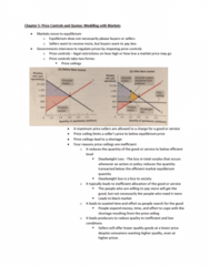 MGEA01H3 Lecture Notes - Lecture 4: Deadweight Loss, Price Ceiling, Price Controls