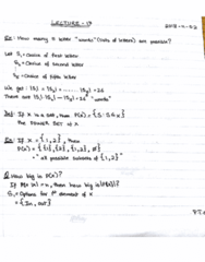 MAT133Y5 Lecture 17: Permutations and Combinations