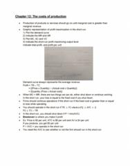 ECO100Y5 Lecture Notes - Lecture 9: Profit Maximization, Marginal Revenue, Marginal Cost