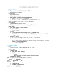 ECON 203 Lecture Notes - Lecture 13: Commercial Bank, Market Liquidity, Interbank