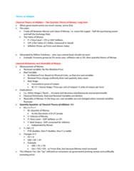 ECON 203 Lecture Notes - Lecture 15: Gdp Deflator, Deflation, Money Supply