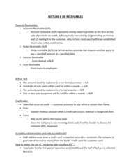 ACTG 1P91 Lecture Notes - Lecture 18: List Of Auto Parts