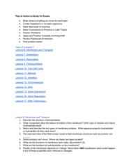 01:119:115 Lecture Notes - Lecture 6: Hydrophile, Phospholipid, Photosynthesis