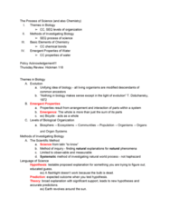 01:119:115 Lecture Notes - Lecture 2: Theodosius Dobzhansky, Emergence, Flashlight