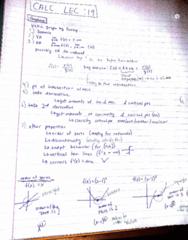 MATA30H3 Lecture 19: calc lec 19