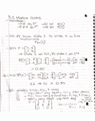 MATH-M 118 Lecture 35: 8.2 Basic Properties of Markov Chains