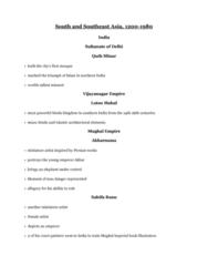 ARTH 1130 Lecture Notes - Lecture 8: Qutb Minar, Akbarnama, Minaret