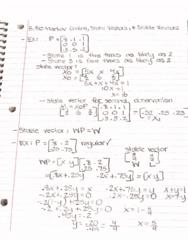 MATH-M 118 Lecture 37: 8.3b Regular Markov Chains