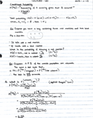 MAT133Y5 Lecture 20: Conditional Probability