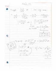 MATH 1004 Lecture 22: Nov 16, 2014