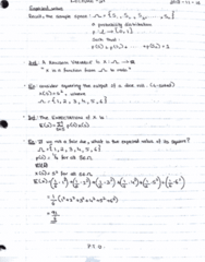 MAT133Y5 Lecture 21: Expected value and limits