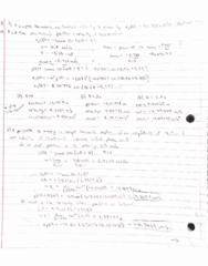 PHY 131 Chapter 3: Physics 131 Simple Harmonic Motion Practice Problems (not textbook note)
