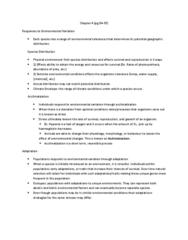 BIOB50H3 Chapter Notes - Chapter 4: Acclimatization, Hemoglobin, Heat Capacity