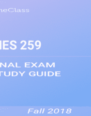 KNES 259 Study Guide - Comprehensive Final Exam Guide - Wireless Access Point, Ulna, Tibia