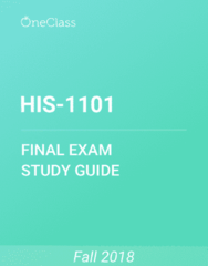 HIS-1101 Study Guide - Comprehensive Final Exam Guide - Wwor-Tv, Tor (Rock Formation), Cyprus