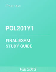 POL201Y1 Study Guide - Comprehensive Final Exam Guide - Third World, Structural Adjustment, International Law