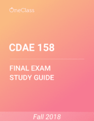 CDAE 158 Study Guide - Comprehensive Final Exam Guide - Credit Card, United States Dollar, Inflation