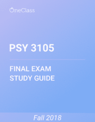 PSY 3105 Study Guide - Comprehensive Final Exam Guide - Canada, Adolescence, Puberty