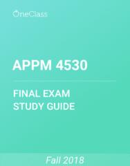 APPM 4530 Study Guide - Comprehensive Final Exam Guide - Dolphin Striker, Radial Velocity, Quadratic Variation