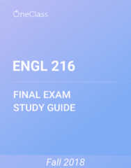 ENGL 216 Study Guide - Comprehensive Final Exam Guide - Brothers Grimm, Order Of Australia, Magic In Fiction