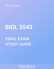 BIOL 2043 Study Guide - Comprehensive Final Exam Guide - Photosynthesis, Ovule, Gynoecium