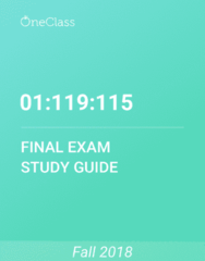 01:119:115 Study Guide - Comprehensive Final Exam Guide - Page 3, Zygosity, Xyy Syndrome