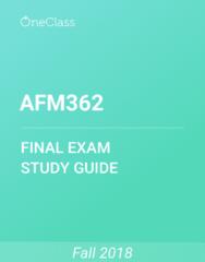 AFM362 Study Guide - Comprehensive Final Exam Guide - Canada, Capital Gain, Dividend
