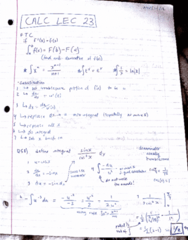 MATA30H3 Lecture 23: calc lec 23