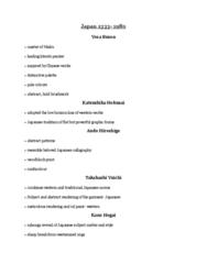 ARTH 1130 Lecture Notes - Lecture 10: Takahashi Yuichi, Hokusai, Yosa Buson