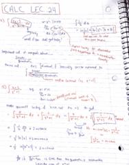 MATA30H3 Lecture 24: calc lec 24