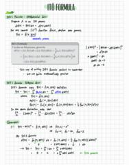APPM 4530 Lecture Notes - Lecture 20: Arbitrage, Vasicek Model