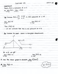 MAT133Y5 Lecture 24: Continuation of limits