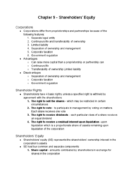 AFM101 Lecture Notes - Lecture 20: Legal Personality, Share Capital, Retained Earnings