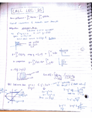 MATA30H3 Lecture 25: calc lec 25