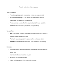 CDAE 158 Lecture Notes - Lecture 22: Vehicle Insurance, Personal Property, Seat Belt