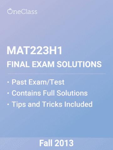 mat223h1-final-utsg-mat223-final-exam-2013-fall-solutions