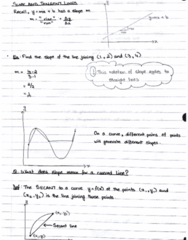 MAT133Y5 Lecture 25: Derivation and its rules