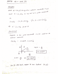 MATH 141 Lecture 42: MATH 141 - Lecture 42 - NOV 30