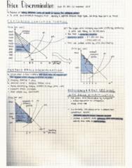 ECON 101 Lecture 38: ECON 101 001 - Lecture 38 - Price Discrimination in Monopolies