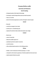 ARTH 1130 Lecture Notes - Lecture 12: Eleman Languages, Headhunting, Marquesas Islands
