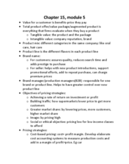 AFM131 Study Guide - Final Guide: Pricing Strategies, Profit Margin, Cost Accounting