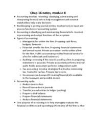 AFM131 Study Guide - Final Guide: Internal Audit, Tax Accounting In The United States, Financial Statement