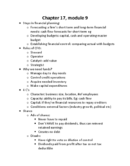 AFM131 Study Guide - Final Guide: Cash Flow, Retained Earnings, Accounting