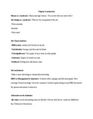 COMM 222 Lecture Notes - Lecture 6: Job Enrichment, Flextime, Job Design