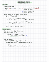 APPM 4530 Lecture Notes - Lecture 24: Ternary Numeral System, Call Option, Arbitrage