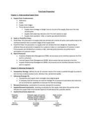 RMG 434 Study Guide - Final Guide: Customer Relationship Management, Supplier Relationship Management, International Society For Contemporary Music