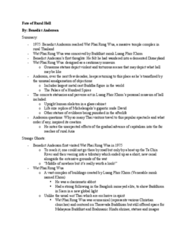 ANTB66H3 Chapter Notes - Chapter Fate of Rural Hell: Theravada, Good And Evil, Lifesize
