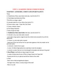NATS 1740 Study Guide - Midterm Guide: Oort Cloud, Dwarf, Unit