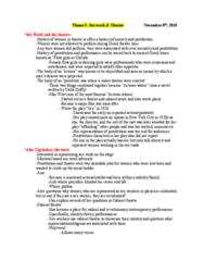 THEA 1900 Lecture Notes - Lecture 5: Stella Duffy, La Dame Aux Camélias, Neon Nights