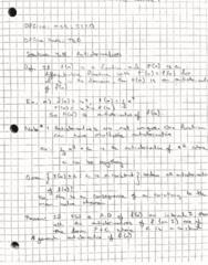 MAT 21B Lecture 1: Indefinite Integrals